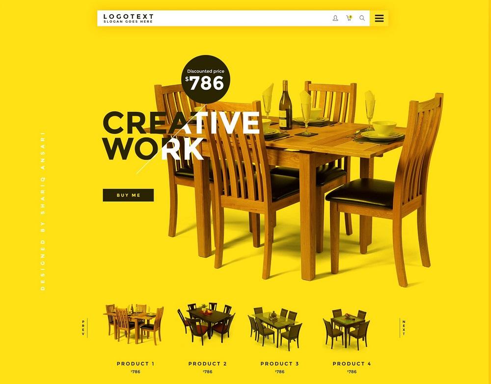 طراحی سایت زرد