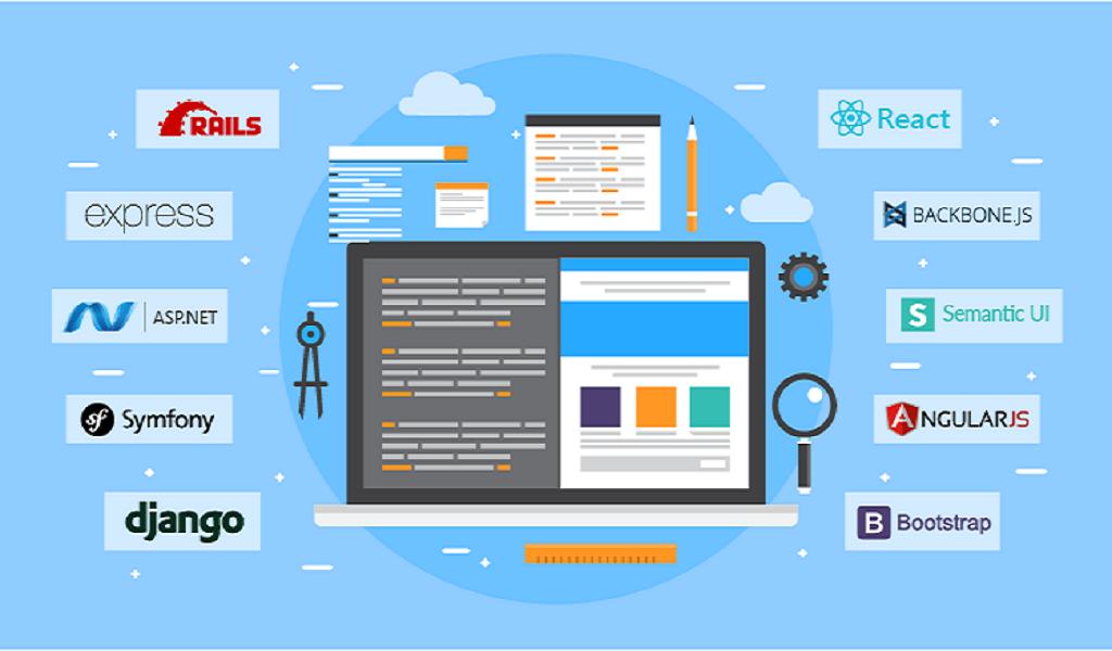 فریمورکهای برتر توسعه وب در سال 2020