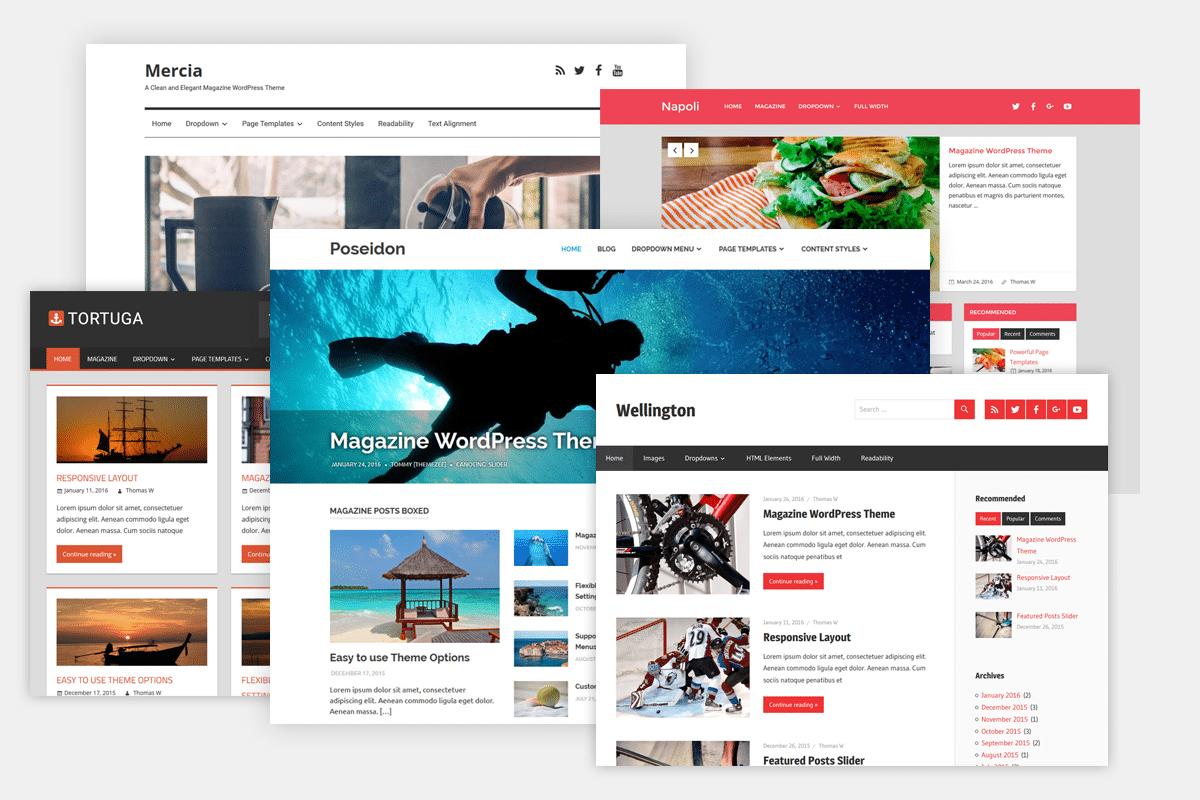 قالب طراحی سایت وردپرس