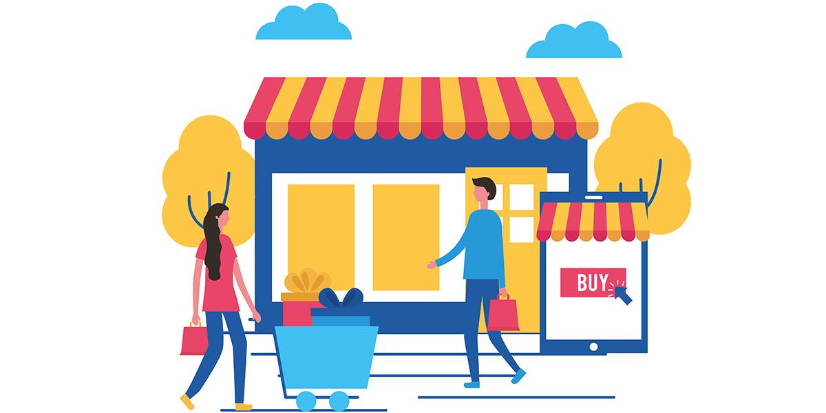 درآمد فروشگاه اینترنتی