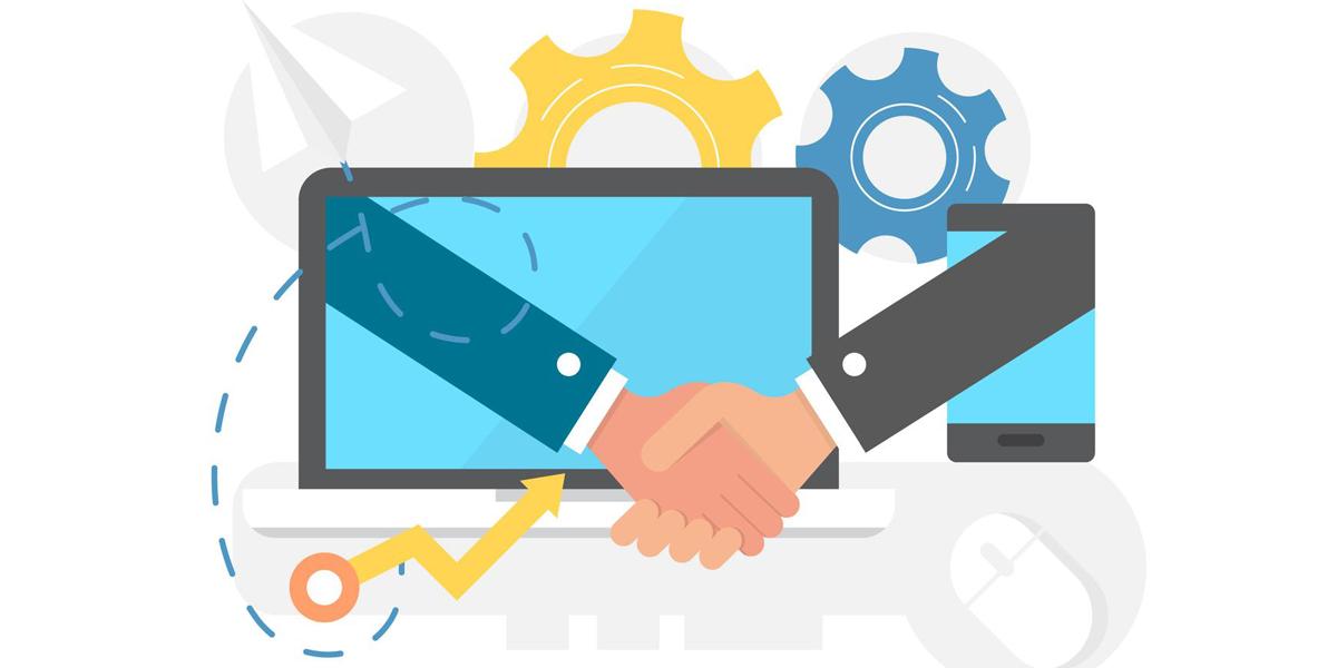 همکاری در فروش برای شروع بیزنس آنلاین با سرمایه کم