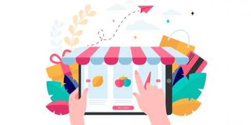 طراحی سایت سوپر مارکت آنلاین
