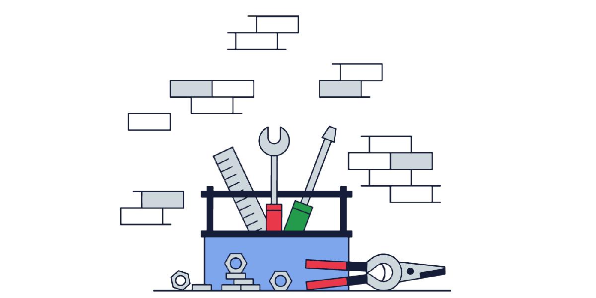 مراحل ابتدایی طراحی سایت فروشگاه ابزارآلات