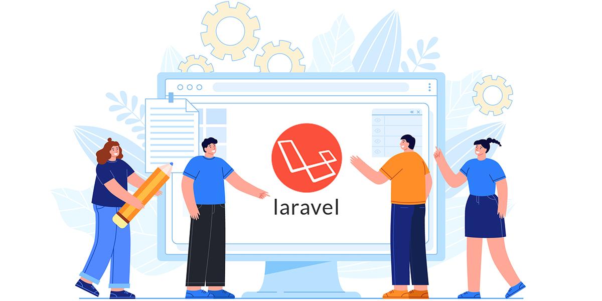 طراحی سایت لاراول