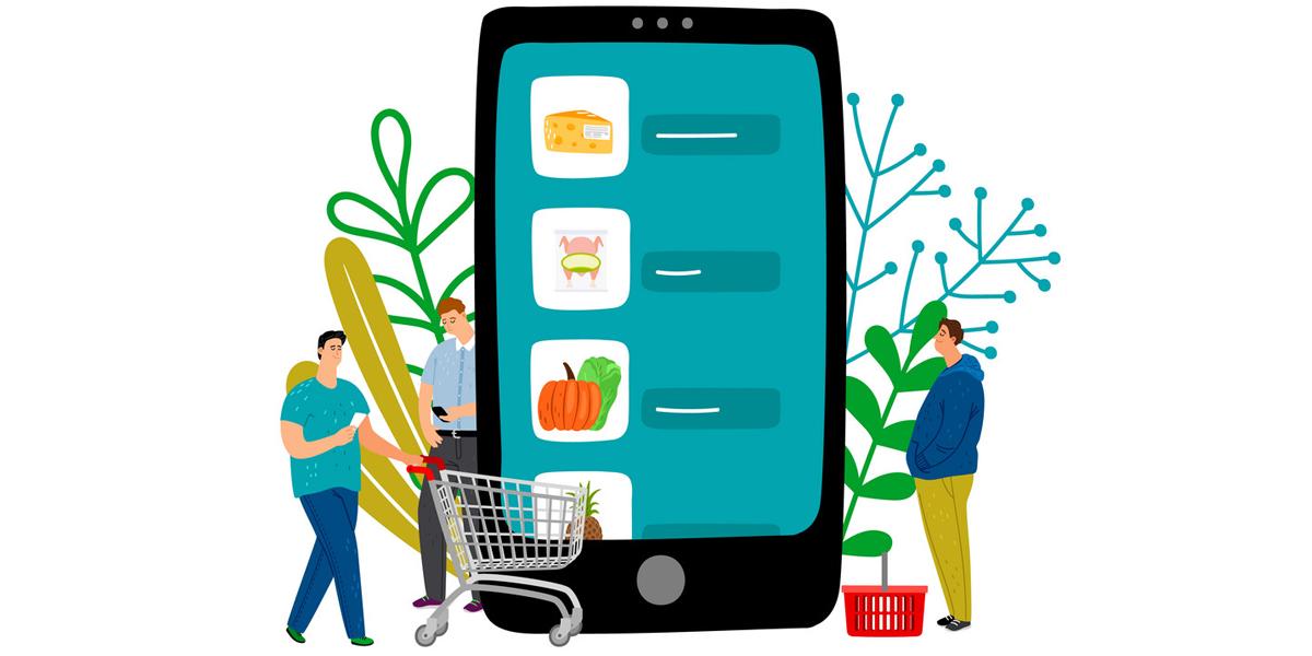 مزایای طراحی سوپر مارکت آنلاین