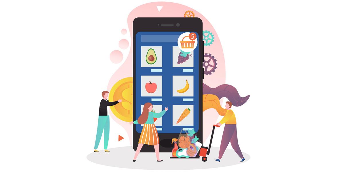 ویژگیهای طراحی سایت سوپر مارکت آنلاین