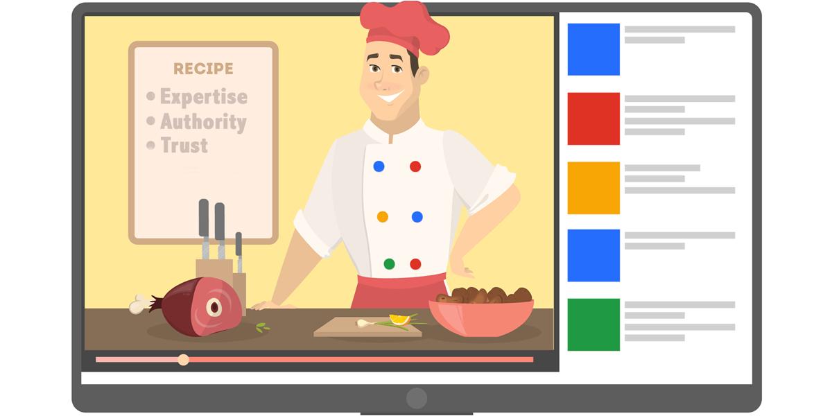 پیادهسازی دستورالعملهای الگوریتم E-A-T گوگل