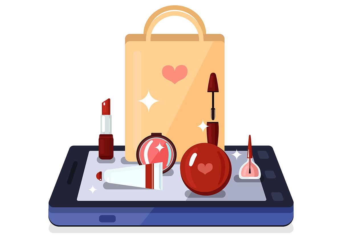مزایای طراحی فروشگاه اینترنتی لوازم آرایشی