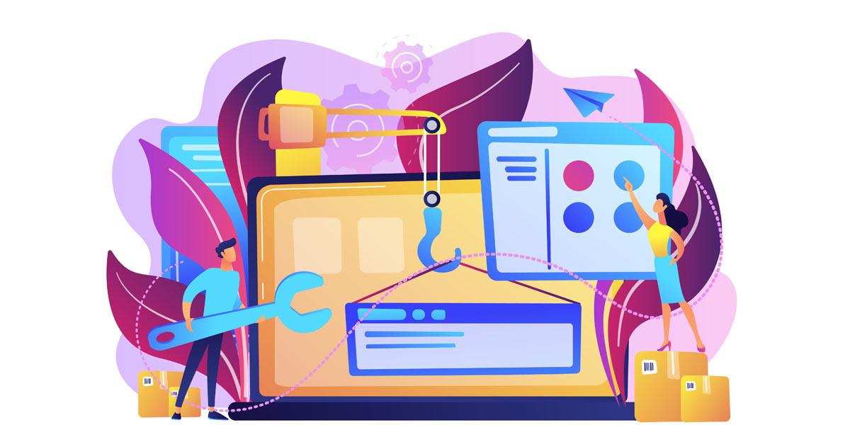 مزایا و معایب طراحی وب سایت به صورت اختصاصی و استفاده از قالب آماده