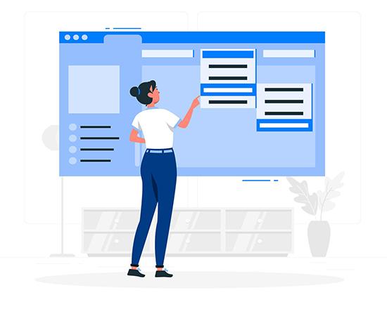 امکانات طراحی سایت خدماتی