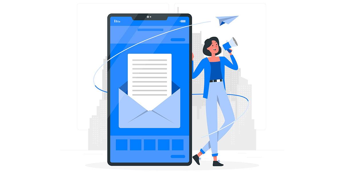 ایمیل مارکتینگ برای کاربران موبایل